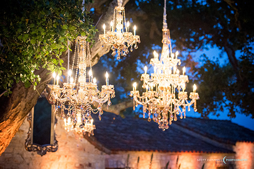 Chandelier rentals in Monterey Peninsula