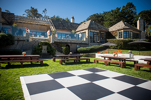 Dance Floor rentals in Monterey Peninsula