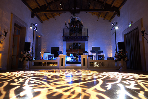 Custom Gobo Lighting in Monterey Peninsula