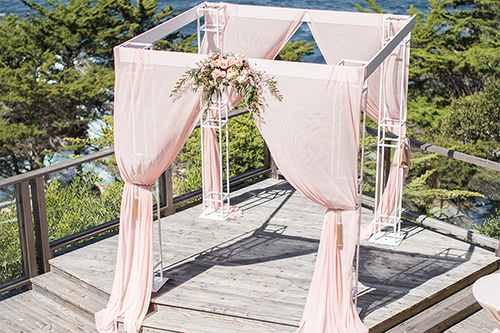 Draping rentals in Monterey Peninsula
