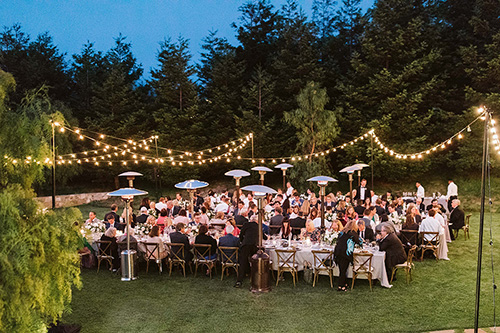Italian String Lights / Bistro Lighting rentals in Monterey Peninsula