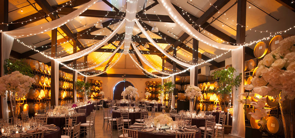 Event Drapery Rentals in the Monterey Peninsula