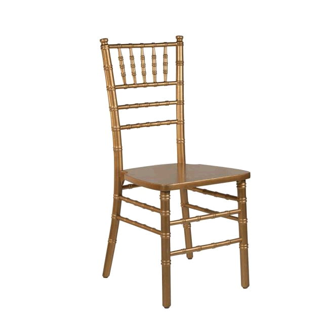 Where to rent Chiavari Chair - Gold in Monterey Peninsula