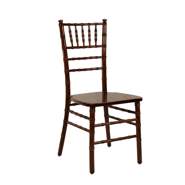 Where to find Chiavari Chair - Mahogany in Monterey