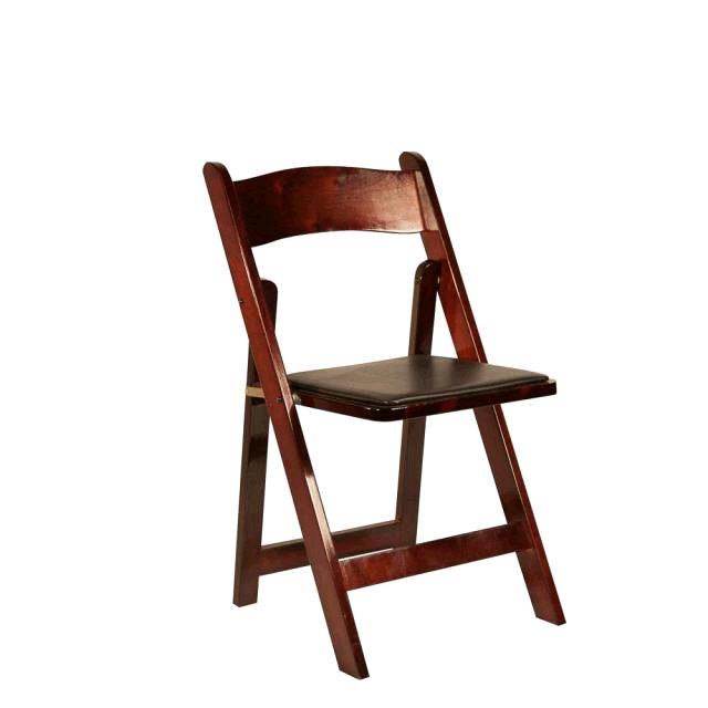 Folding Chair   Cherry Wood