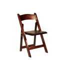 Rental store for Folding Chair - Cherry Wood in Monterey CA