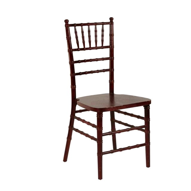 Gentil Chiavari Chair   Dark Cherry Wood