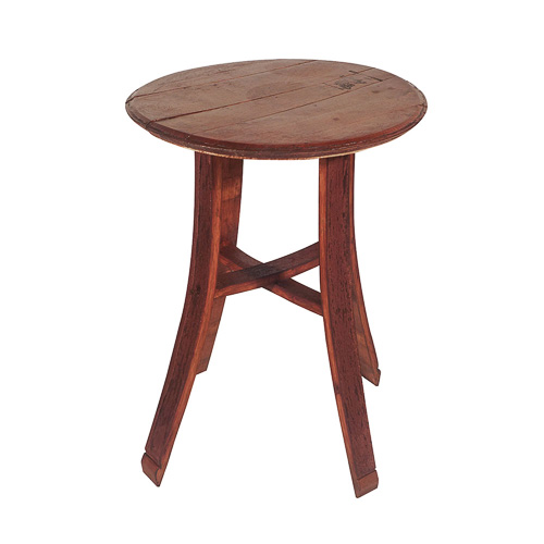 Wine Barrel Cocktail Table 30 Inch X 22 Inch Rentals