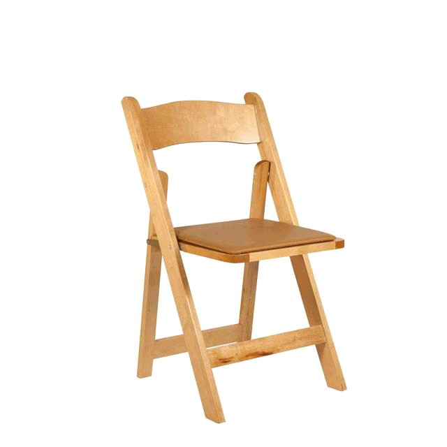 Where to rent Folding Chair - Natural in Monterey Peninsula