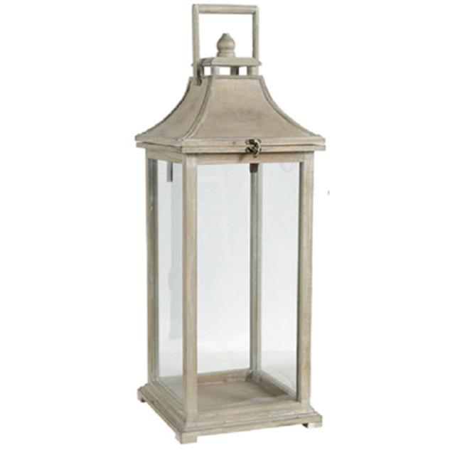 Where to find Driftwood Lantern - 7.5  W x 22  T in Monterey