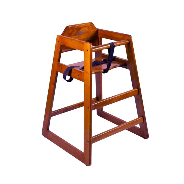 Where to rent High Chair - Mahogany in Monterey Peninsula