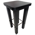 Rental store for Black Wood Barstool  16 x16 x30 in Monterey CA