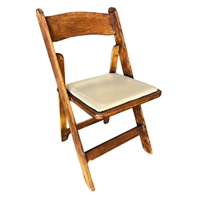 Where to rent Folding Chair - Mahogany in Monterey Peninsula