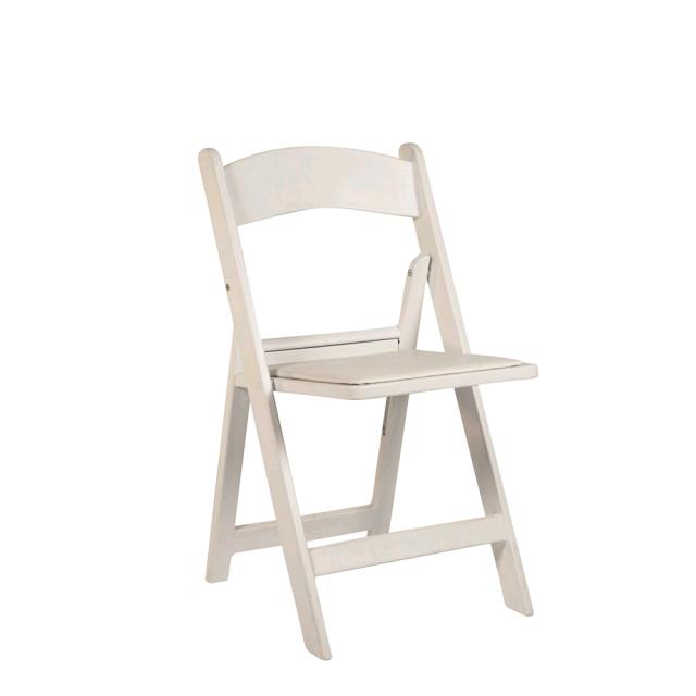 Where to find Folding Chair Resin - White  A in Monterey