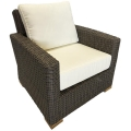 Rental store for Miami Chair - Grey Wicker in Monterey CA