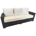 Rental store for Miami Couch - Grey Wicker in Monterey CA