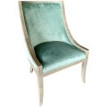 Rental store for Poppy Chair - Ocean Blue Velvet in Monterey CA