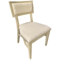 Rental store for Steinbeck Chair-Blonde-Ivory Linen in Monterey CA