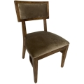 Rental store for Steinbeck Chair-Walnut-Warm Taupe Velvet in Monterey CA