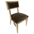 Rental store for Steinbeck Chair-Blonde-Warm Taupe Velvet in Monterey CA