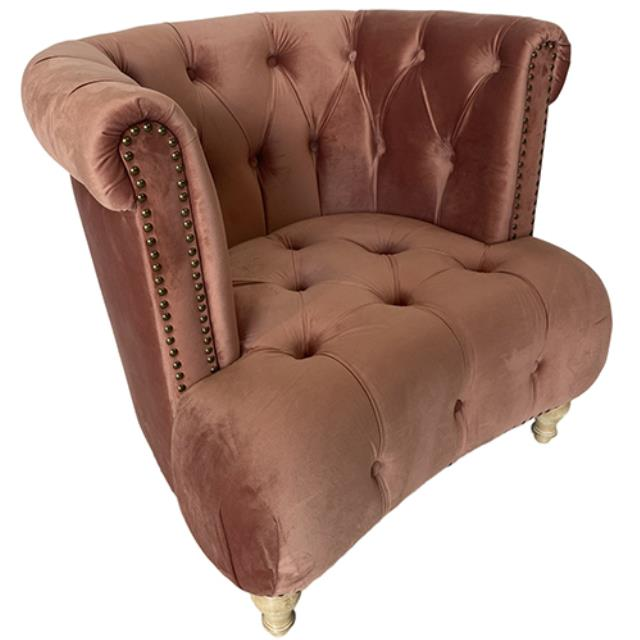 Where to find Addison Chair - Rose Velvet in Monterey