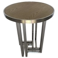 Rental store for Hudson End Table - Silver w  Wood Top in Monterey CA