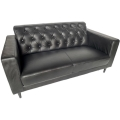 Rental store for Hugo Loveseat - Black in Monterey CA