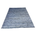 Rental store for Leopold Rug - Blue Denim Wool - 8 x10 in Monterey CA