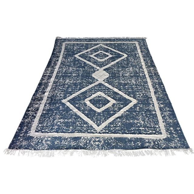 Where to find Andros Rug - Blue Ivory - 8 x10 in Monterey