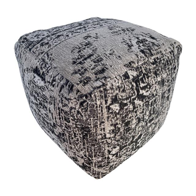 Where to find Merriwa Pouf - Grey - 16 x16 x16 in Monterey