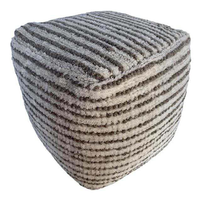 Where to find Amorica Pouf - Grey - 16 x16 x16 in Monterey