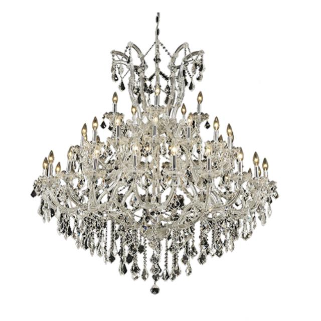 Where to rent Crystal Chandelier - 54  Clear in Monterey Peninsula