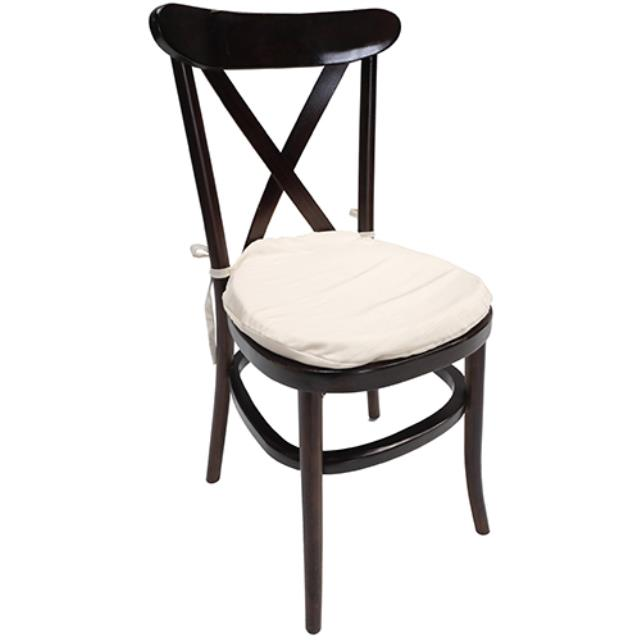 Where to rent Italian Bistro Chair - Mahogany in Monterey Peninsula