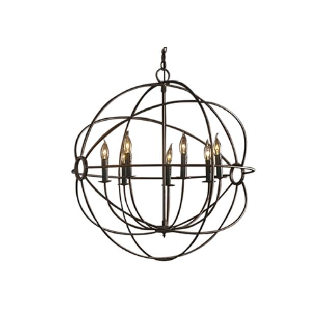 Where to find Chandelier - Rustic Orb 32  x 34 in Monterey