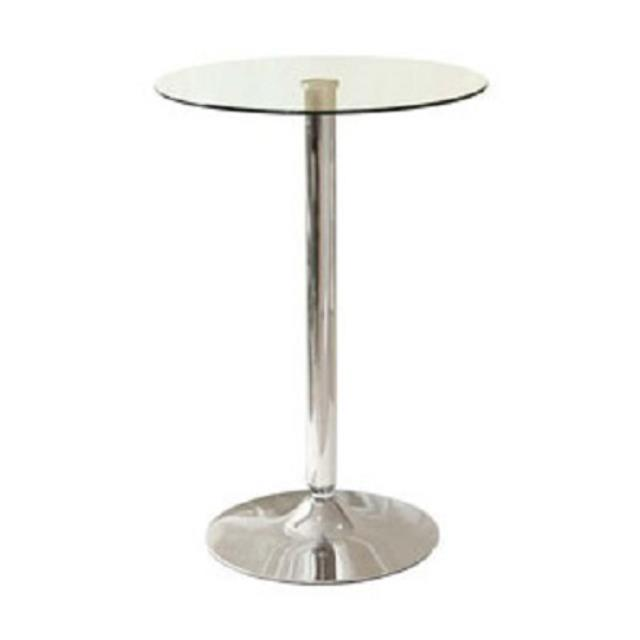 Where To Rent Cocktail Table   Glass Top   42 Tall In Monterey Peninsula