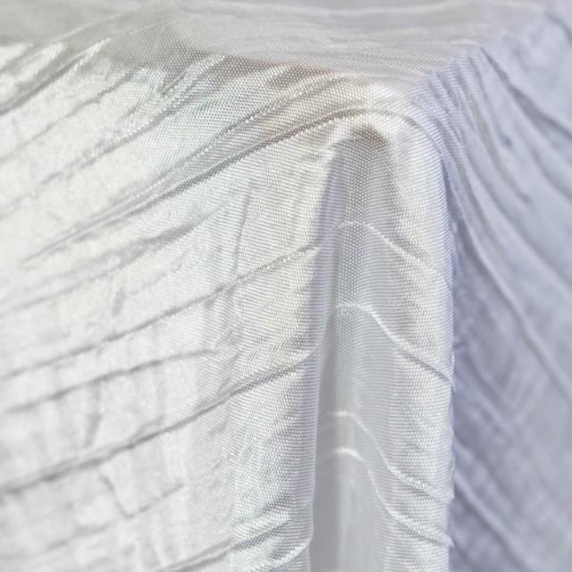 Where to find Crushed Taffeta - White in Monterey