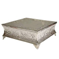 Rental store for Cake Stand  Square  - Silver Ornate in Monterey CA