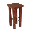 Rental store for Mahogany Wood Barstool  16 x16 x30 in Monterey CA