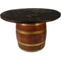 Rental store for Wine Barrel Table - With 48  Top in Monterey CA