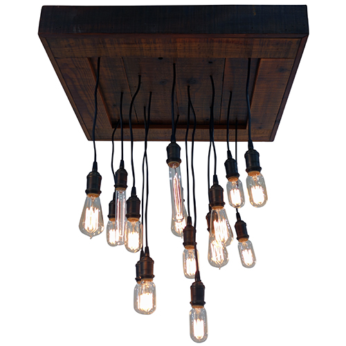 Where to find Edison Light Chandelier in Monterey