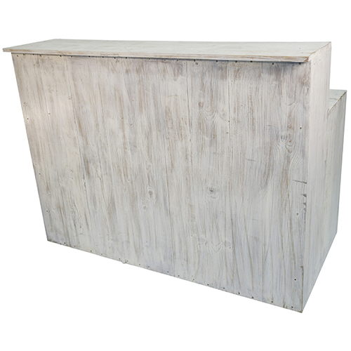 Where to find Wood Bar - 5ft White Wash in Monterey