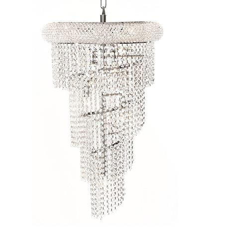 Where to rent Crystal Swirl Chandelier - 26  x 16 in Monterey Peninsula