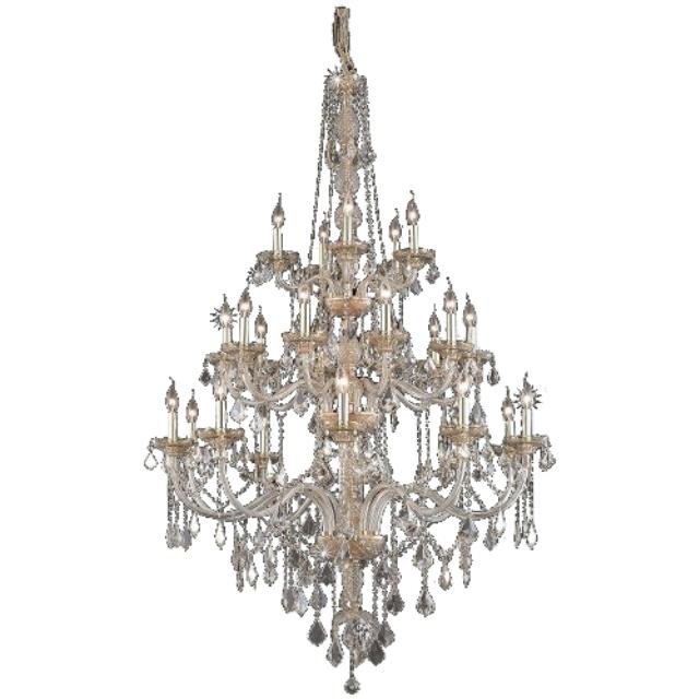 Where to rent Crystal Chandelier - 43  Rose Gold in Monterey Peninsula