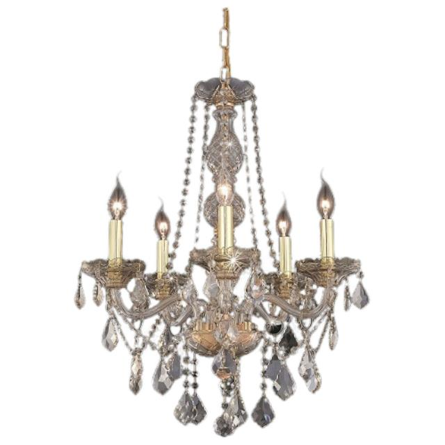 Where to find Crystal Chandelier -21  Rose Gold in Monterey