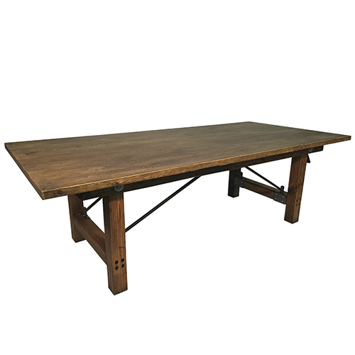 Where to find Rustic Wood Table - 8  x 44  x 30 t in Monterey