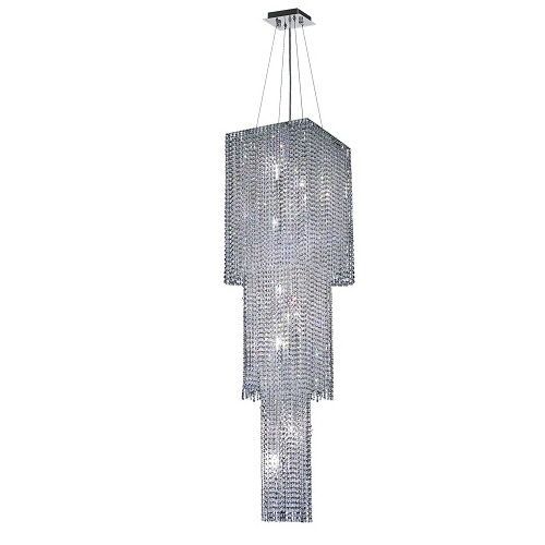 Where to rent Crystal Tiered Chandelier - 16 x16 x63 in Monterey Peninsula