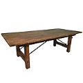 Rental store for Rustic Wood Table - 8  x 46 in Monterey CA