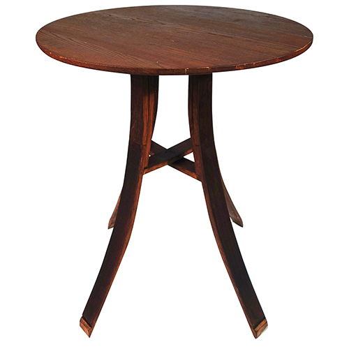 Where to find Wine Barrel Cocktail Table - 42  x 36 in Monterey