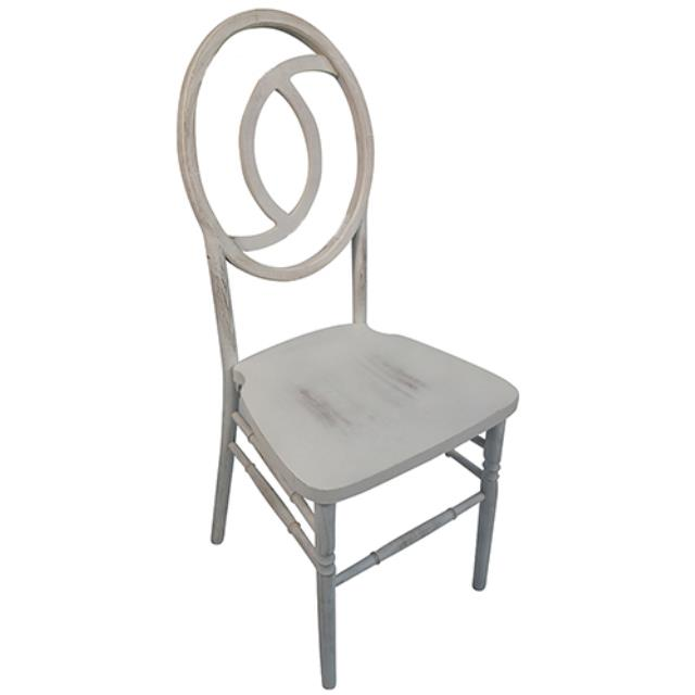 Where to rent Eternity Chair - White Wash in Monterey Peninsula