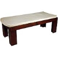 Rental store for Mahogany Bench w  Cushion -24 x56 x18 in Monterey CA